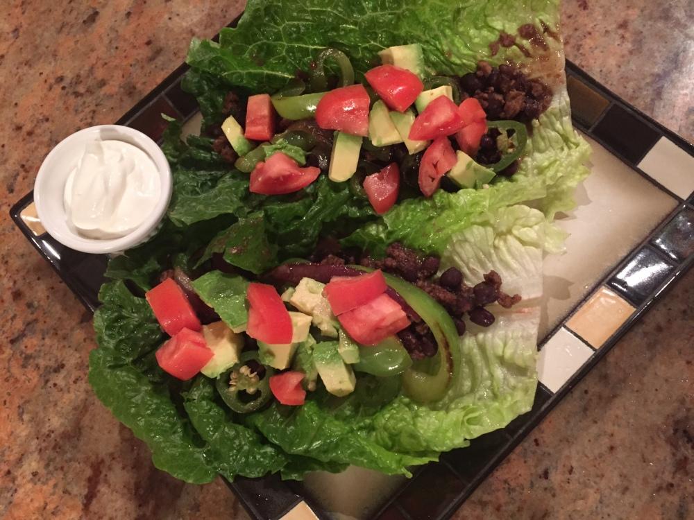 Vegetarian Taco Wraps